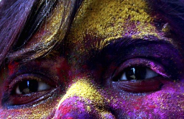 APTOPIX India Spring Festival